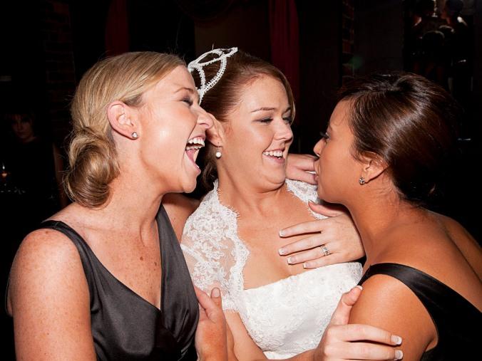 funny joke at wedding