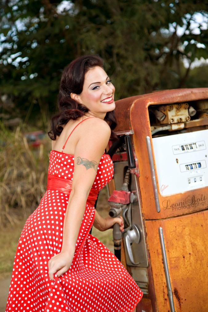 Pin up photo shoot Brisbane