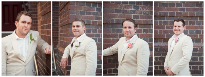 groomsmen at QUT