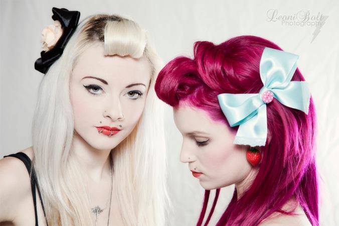 rockabilly hair accessories