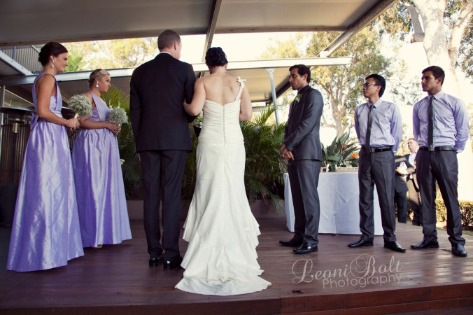 Victoria Park Golf Course Wedding Ceremony