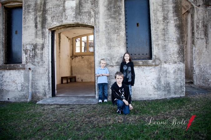 kids at Fort Lytton