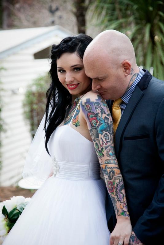 Tattoed Wedding