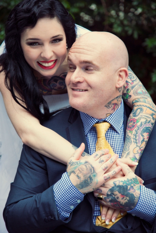 Tattoed Wedding
